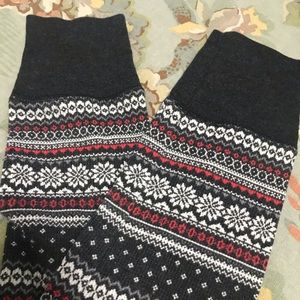 Old Navy Pants - Old navy fair isle print leggings